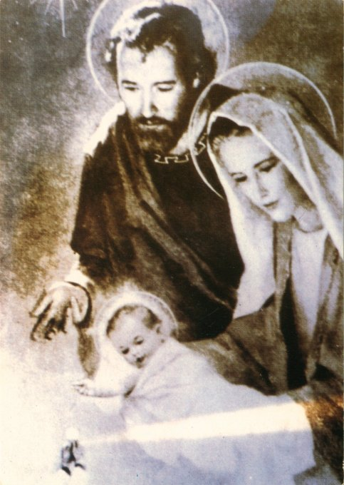 miraculous picture face of Holy Family