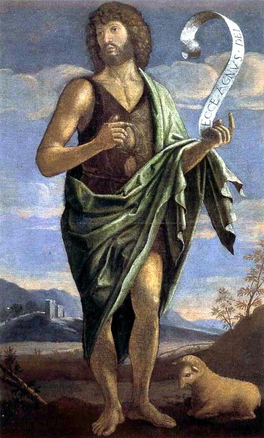 John the Baptist by Bartolomeo Veneto 16th century