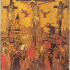 Icons of crucifixion of Jesus