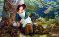 Asleep in the Woods by Arthur Hughes