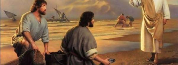 Jesus calls Andrew and Simon