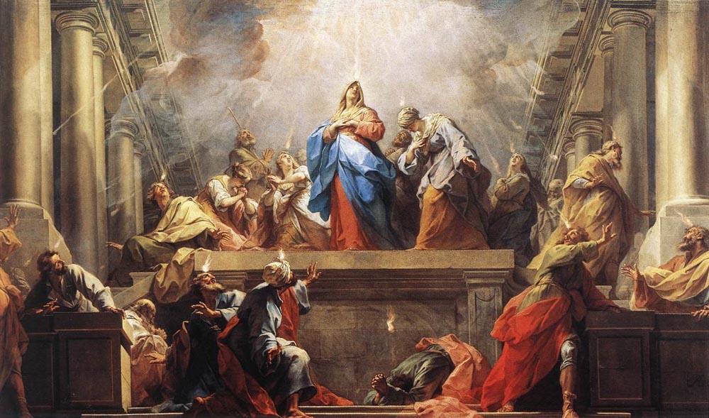 Pentecost Day Jean_II_Restout_-_Pentecôte