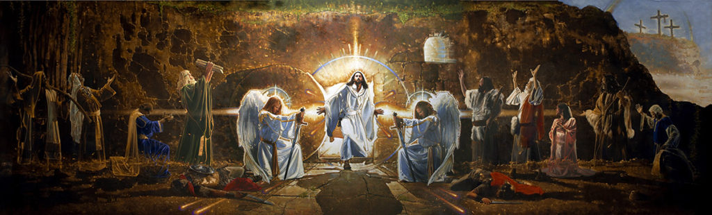 The Resurrection Mural by Ron DiCianni