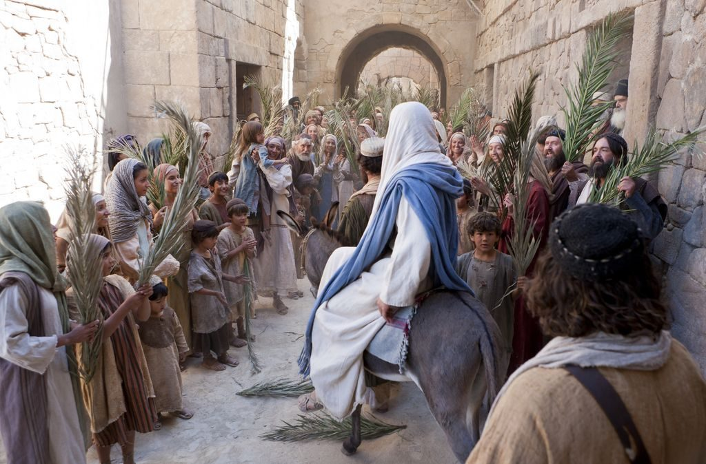 The Triumphal Entry of Jesus into Jerusalem